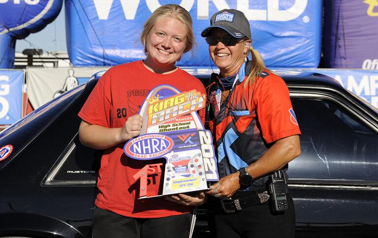 Festus' Lindsey Schmidt wins NHRA Midwest Nationals High School final